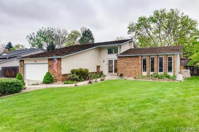 Littleton Single Family Home Active: 7956 South Vance Court