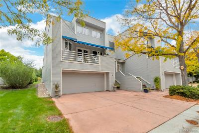 Denver Condo/Townhouse Sold: 9200 East Cherry Creek South Drive #18
