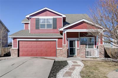 Castle Rock Single Family Home Under Contract: 1213 North Heritage Avenue