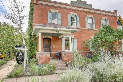 Denver Condo/Townhouse Active: 4360 Umatilla Street