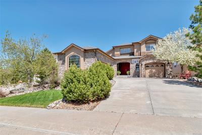 Castle Pines Single Family Home Under Contract: 12364 Montano Way