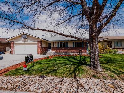 Aurora CO Single Family Home Active: $329,000