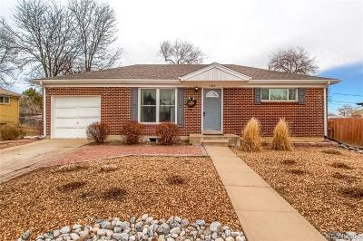 Northglenn Single Family Home Under Contract: 11320 Irma Drive