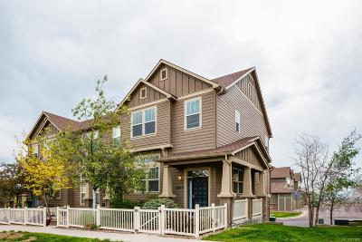 Castle Rock Condo/Townhouse Under Contract: 3844 Ute Mountain Trail