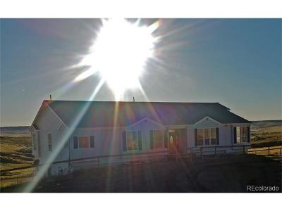Deer Trail CO Single Family Home Active: $369,900