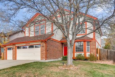Broomfield Single Family Home Under Contract: 1636 Iris Street