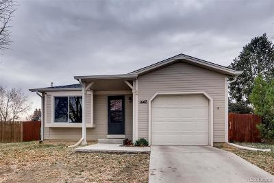 Aurora Single Family Home Under Contract: 1442 South Biscay Way