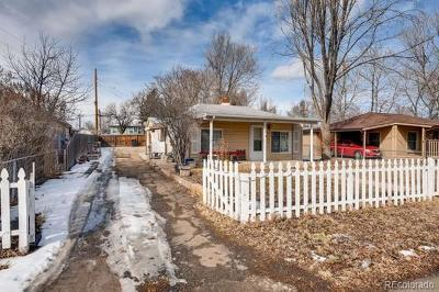 Denver Single Family Home Active: 1277 South Mariposa Street