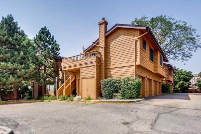 Denver Condo/Townhouse Active: 9400 East Iliff Avenue #47
