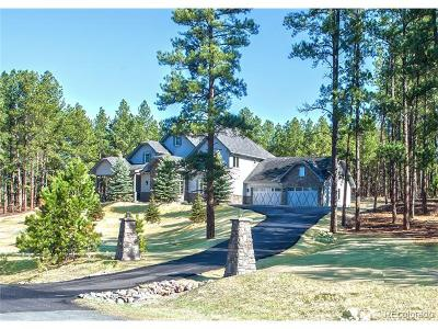 Franktown Single Family Home Under Contract: 10525 Wild Fox Place