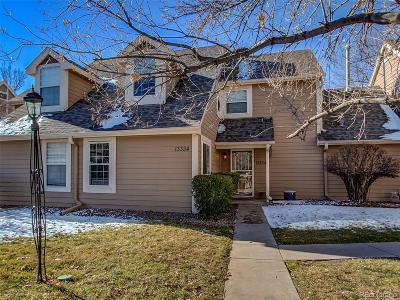 Aurora Condo/Townhouse Under Contract: 13334 East Asbury Drive