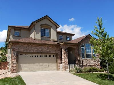 Castle Pines Single Family Home Active: 12381 Jasper Pointe Way