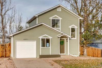 Aurora, Denver Single Family Home Under Contract: 4931 South Salida Court
