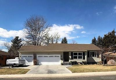 Arapahoe County Single Family Home Active: 5885 South Crocker Street
