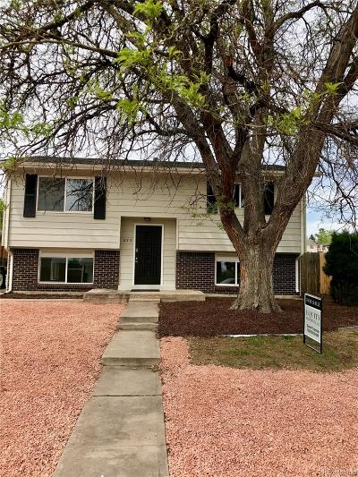 Northglenn Single Family Home Active: 825 West 97th Avenue