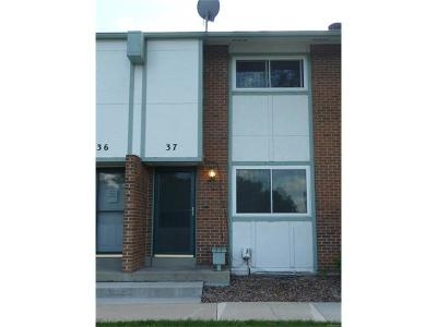Broomfield Condo/Townhouse Sold: 37 Evergreen Street
