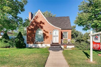 Denver Single Family Home Active: 4645 Lowell Boulevard