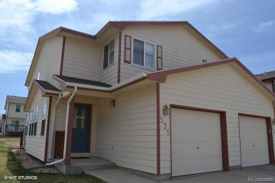 Dacono Condo/Townhouse Under Contract: 535 Horizon Place