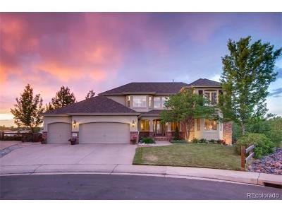 Highlands Ranch Single Family Home Active: 10461 Meyerwood Court