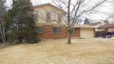 Broomfield Single Family Home Active: 900 Coral Street