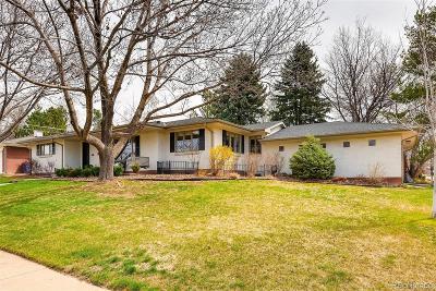 Denver Single Family Home Active: 3258 South Dallas Court