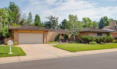 Denver Single Family Home Under Contract: 10011 East Ohio Avenue