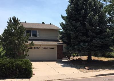 Colorado Springs Single Family Home Active: 3225 East Oak Creek Drive