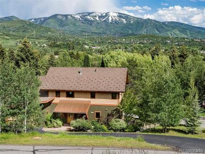 Steamboat Springs Single Family Home Active: 1109 Village Lane
