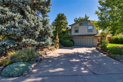 Englewood Single Family Home Active: 5070 South Inca Drive