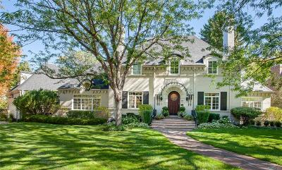 Denver Single Family Home Under Contract: 6 Crestmoor Drive