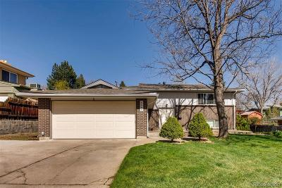 Arvada Single Family Home Active: 6464 Brentwood Street