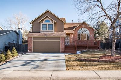 Thornton Single Family Home Under Contract: 978 East 132nd Drive