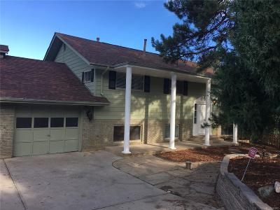 Castle Rock CO Single Family Home Active: $559,900