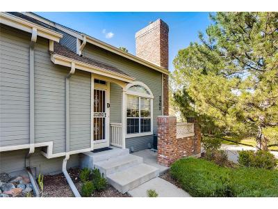 Littleton Condo/Townhouse Under Contract: 2902 West Long Circle #D