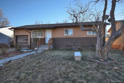 Fountain Single Family Home Active: 330 Columbine Street