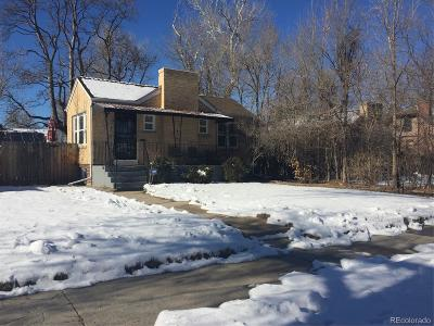 Denver Single Family Home Active: 1539 Eudora Street
