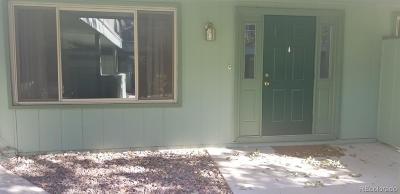 Wheat Ridge Condo/Townhouse Under Contract: 3771 Quail Street