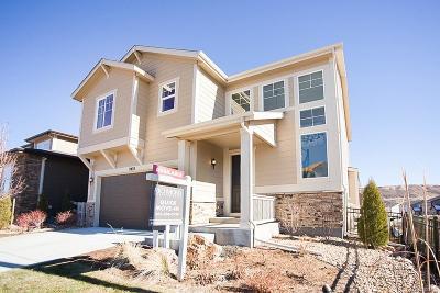 Castle Rock CO Single Family Home Active: $539,950