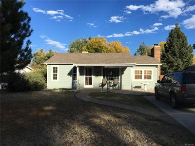 Denver Single Family Home Active: 2240 South Irving Street