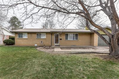 Littleton Single Family Home Under Contract: 482 West Caley Avenue