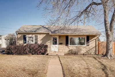 Mar Lee Single Family Home Under Contract: 1190 South Xavier Street