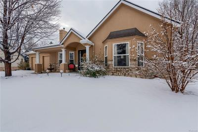 Littleton Single Family Home Under Contract: 4712 West Aberdeen Place