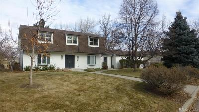 Littleton Single Family Home Under Contract: 4951 West Ottawa Avenue