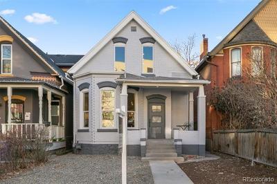 Denver Single Family Home Active: 2745 Decatur Street