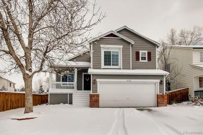 Highlands Ranch Single Family Home Under Contract: 9330 Roadrunner Street