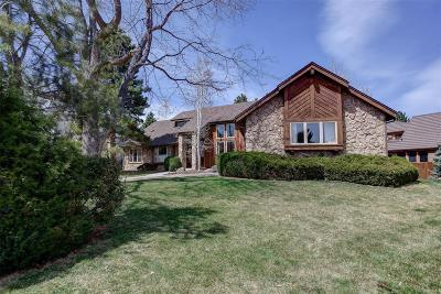 Greenwood Village Single Family Home Under Contract: 6137 South Alton Way