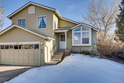 Highlands Ranch CO Single Family Home Under Contract: $369,000