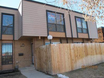 Arvada Condo/Townhouse Under Contract: 6451 Ward Road