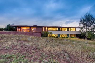Boulder Single Family Home Under Contract: 6715 Lakeview Drive
