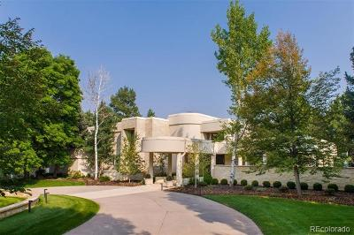 Cherry Hills Village CO Single Family Home Active: $3,000,000
